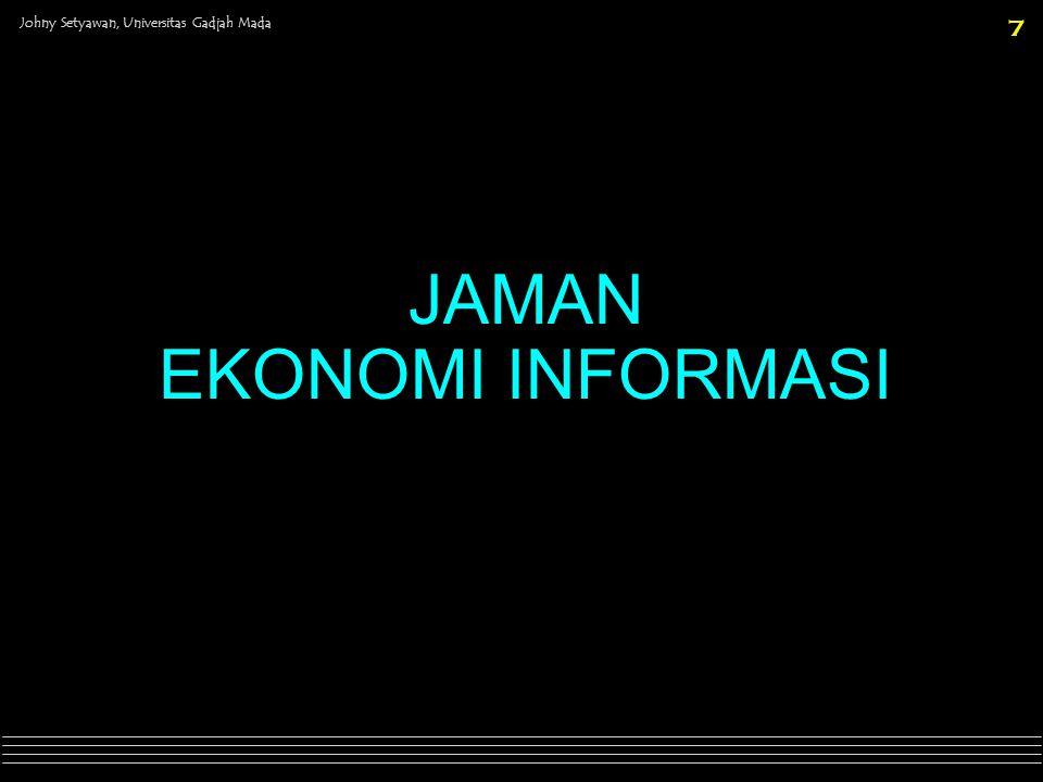 Johny Setyawan, Universitas Gadjah Mada 8 DRIVERS G Keamanan & stabilitas G Mekanisasi G Spesialisasi & produktivitas G Globalisasi & deregulasi G Communication tech.