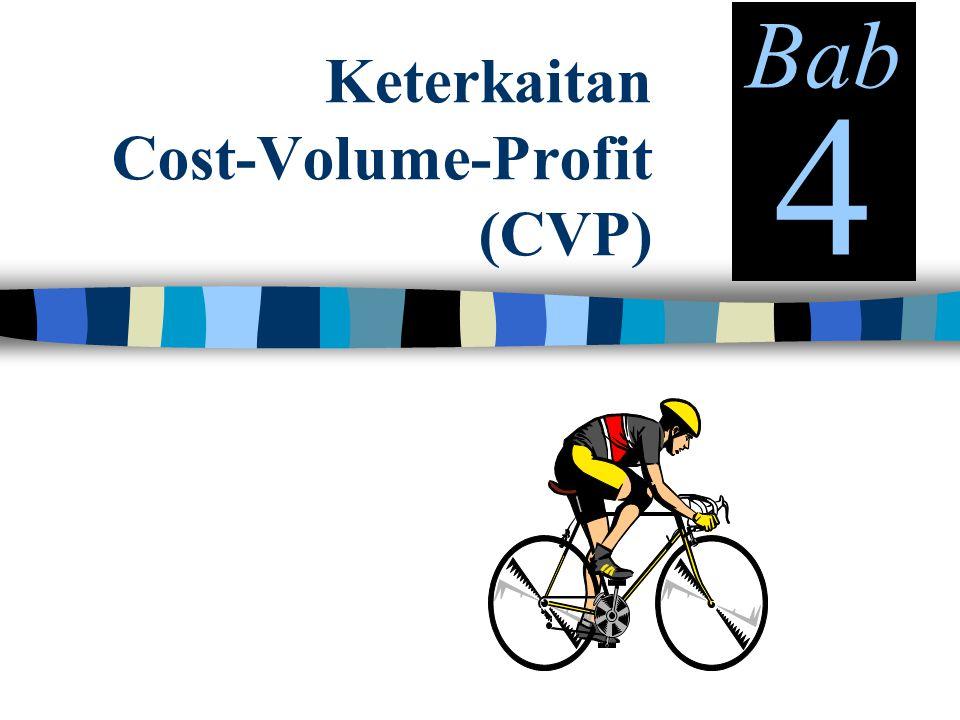 Keterkaitan Cost-Volume-Profit (CVP) Bab 4