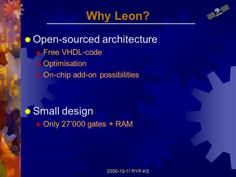 2000-10-11 RYP-KS Why Leon.