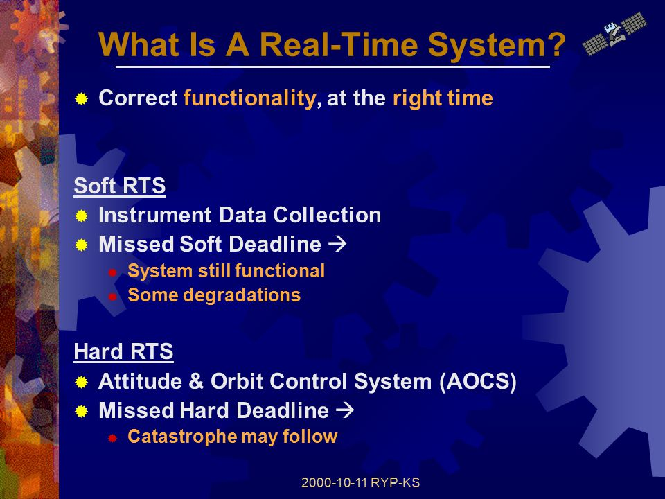 2000-10-11 RYP-KS What Is A Real-Time System.