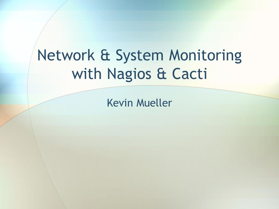 Nagios Tactical Overview