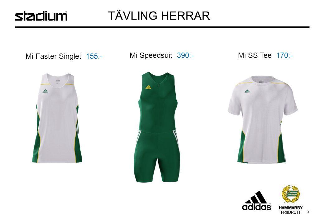 3 Mi Long Tight 200:- Mi Shorts Tights 190:- Mi Split Shorts 150:- TÄVLING HERRAR