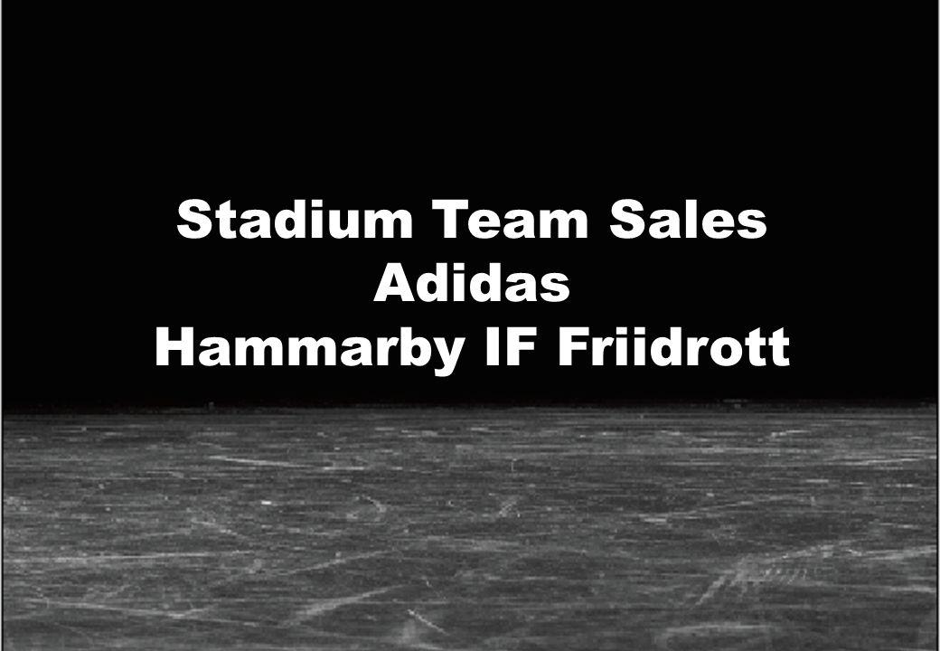 1 Stadium AB 9 april 2008 www.stadium.se Stadium Team Sales Adidas Hammarby IF Friidrott