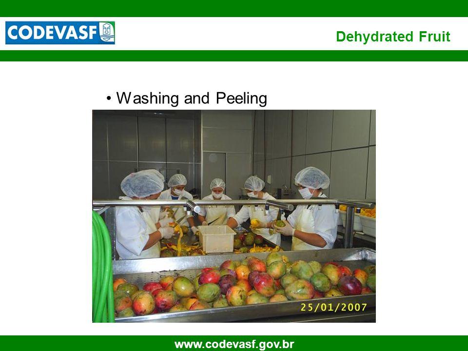 10 www.codevasf.gov.br Cutting Dehydrated Fruit