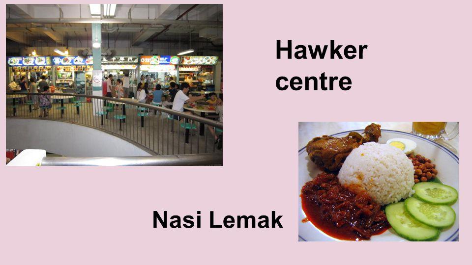 Hawker centre Nasi Lemak