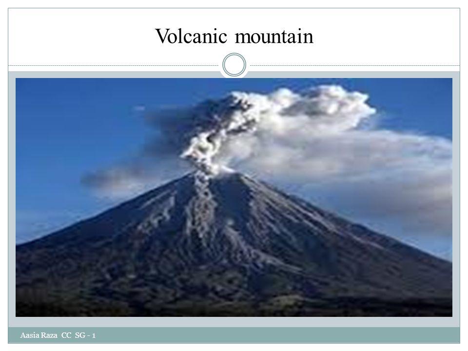 Volcanic mountain Aasia Raza CC SG - 1