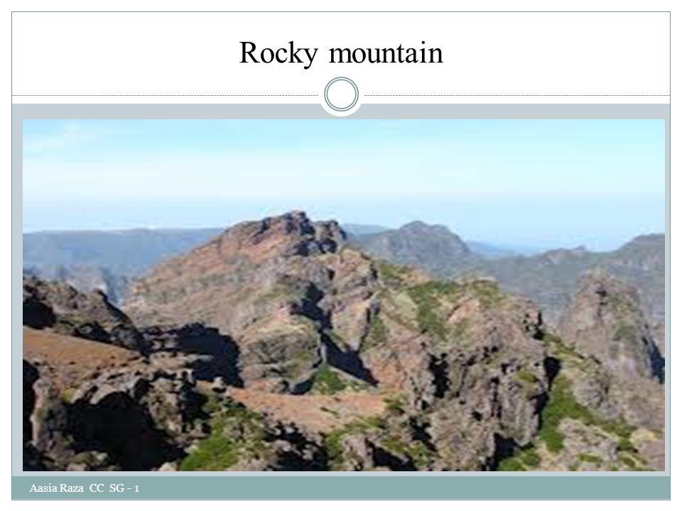 Rocky mountain Aasia Raza CC SG - 1
