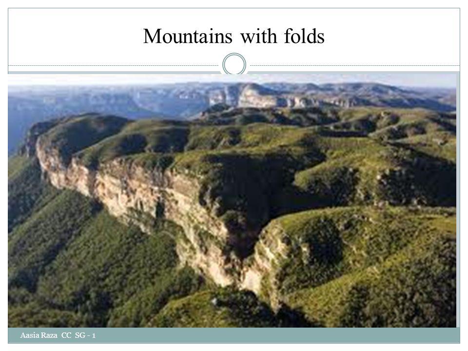 Mountains with folds Aasia Raza CC SG - 1