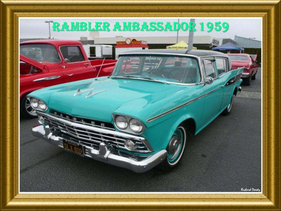 Rambler ambassador 1959