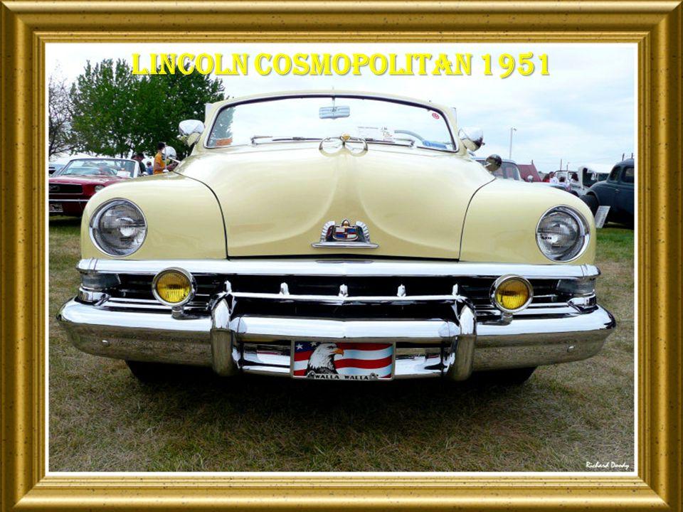 Lincoln cosmopolitan 1951