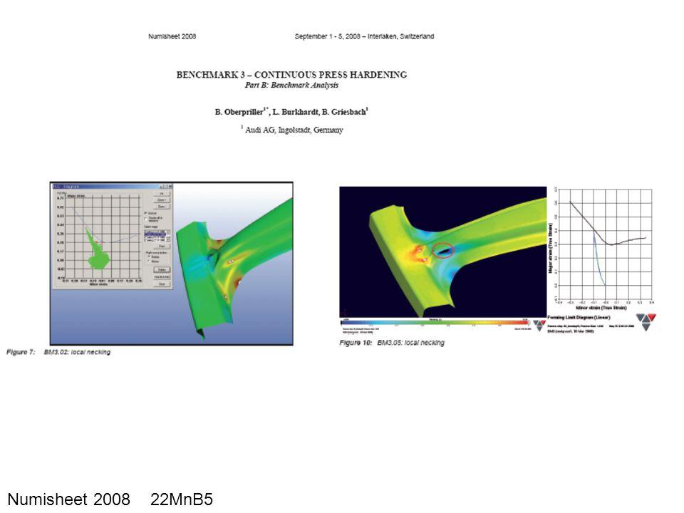 Numisheet 2008 22MnB5