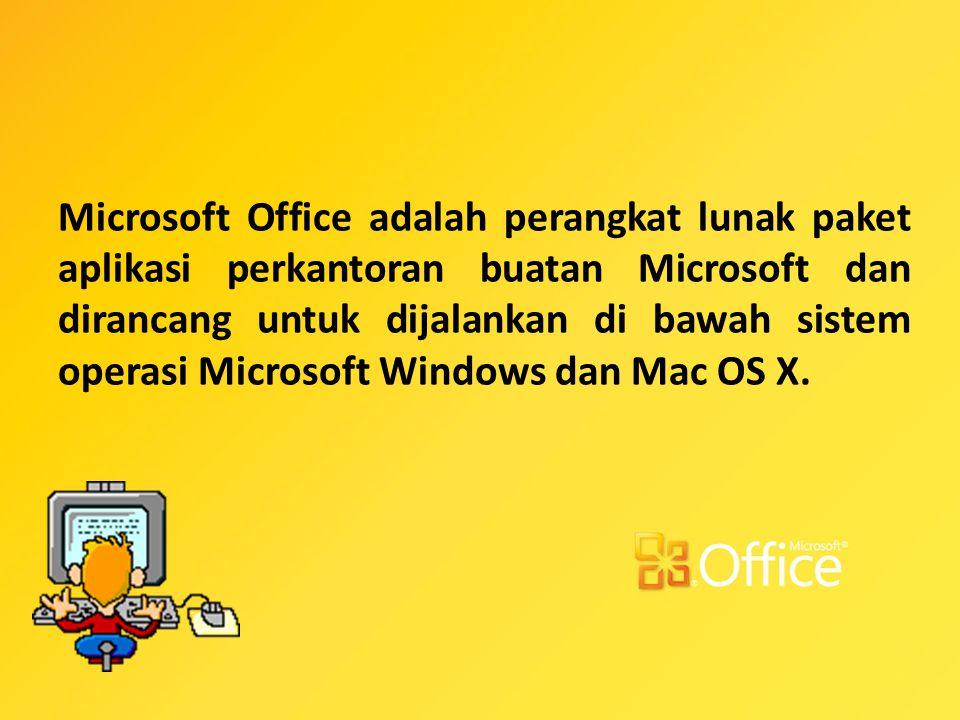 Apa saja produk Microsoft Office ?