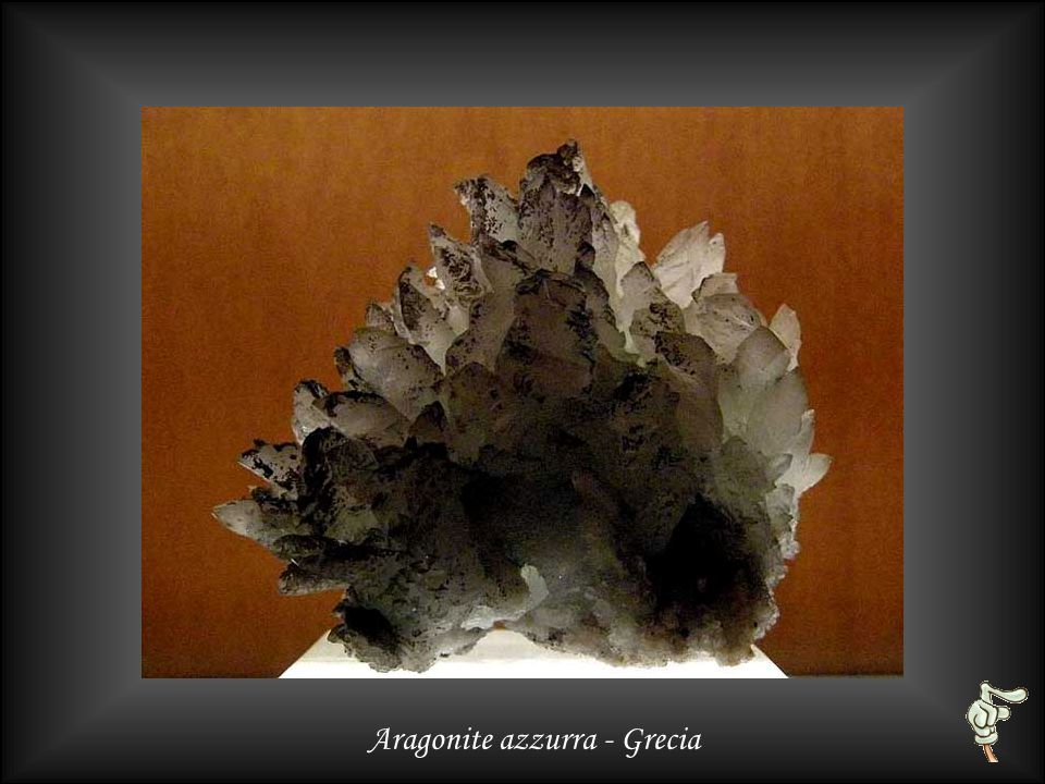 Aragonite coralloide bianca - Germania