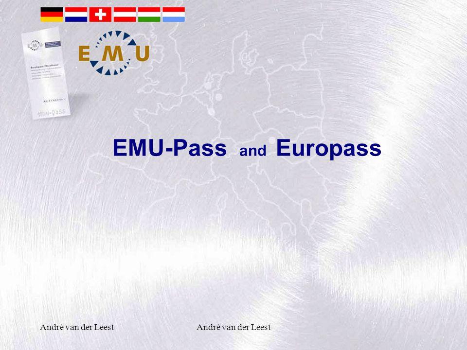 André van der Leest EMU-Pass and Europass