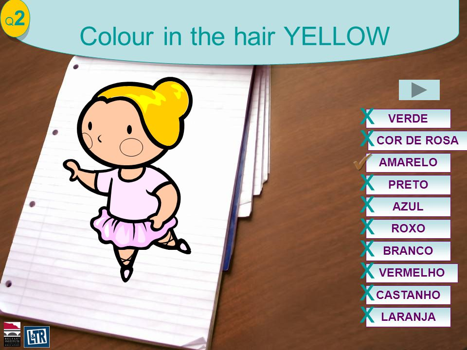 Q2Q2 Colour in the hair YELLOW AMARELO VERDE x COR DE ROSA x PRETO x AZUL x ROXO x BRANCO x VERMELHO x CASTANHO x LARANJA x