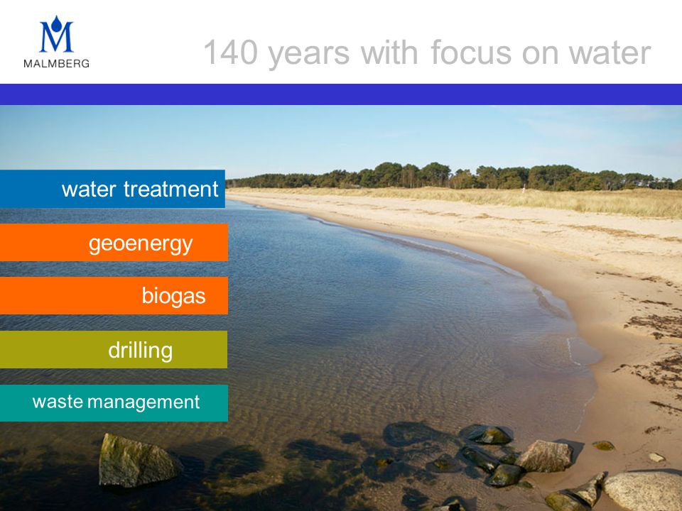 water treatment drilling waste management biogas geoenergy 140 years with focus on water