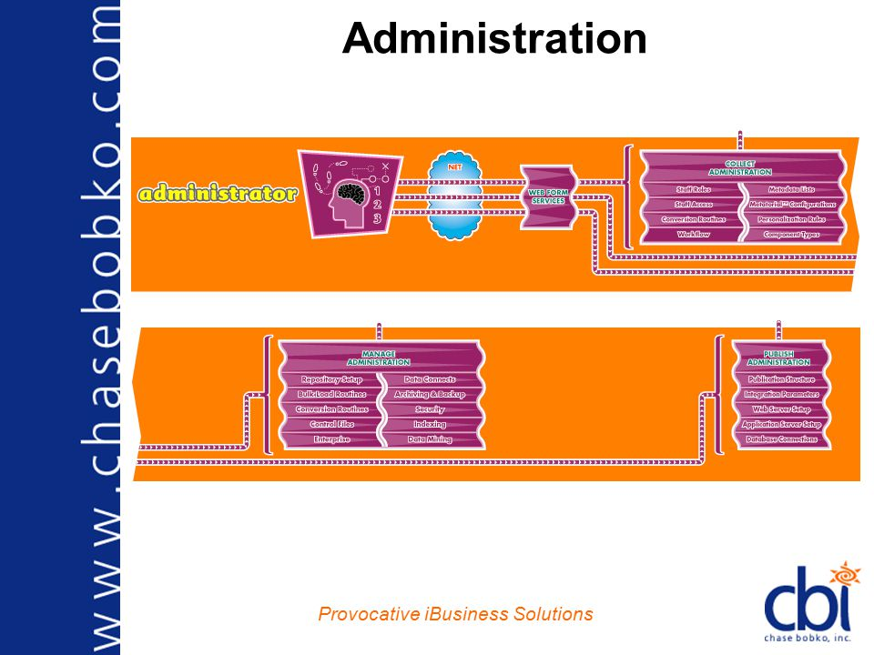 Provocative iBusiness Solutions Administration