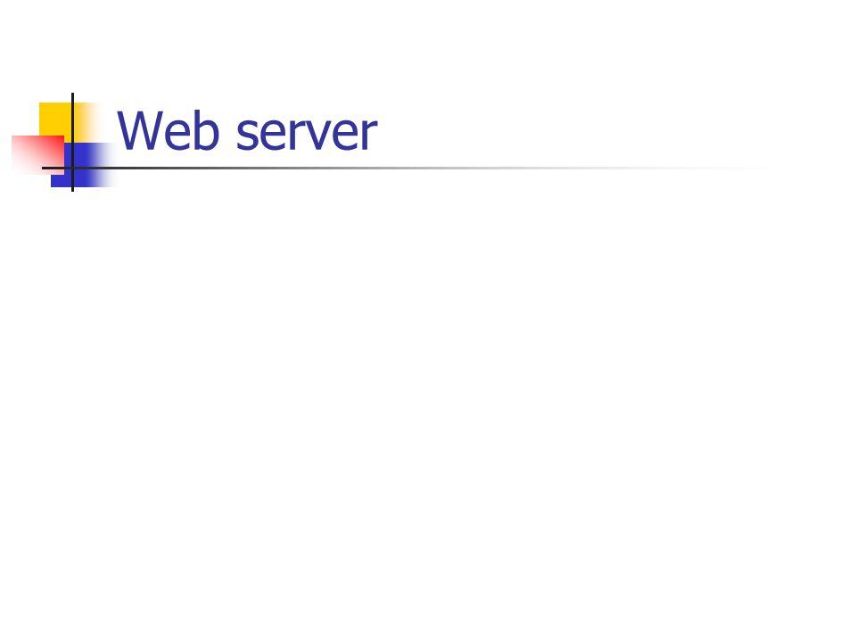 Instalasi Web server # rpm –ivh apache-1.3.12.rpm