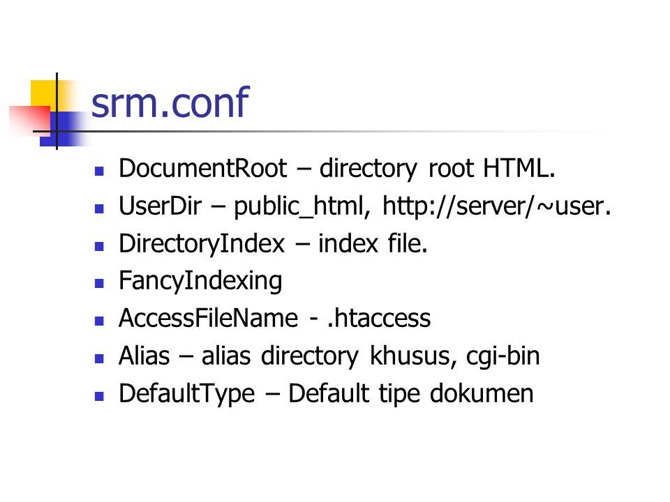 access.conf Access Control File