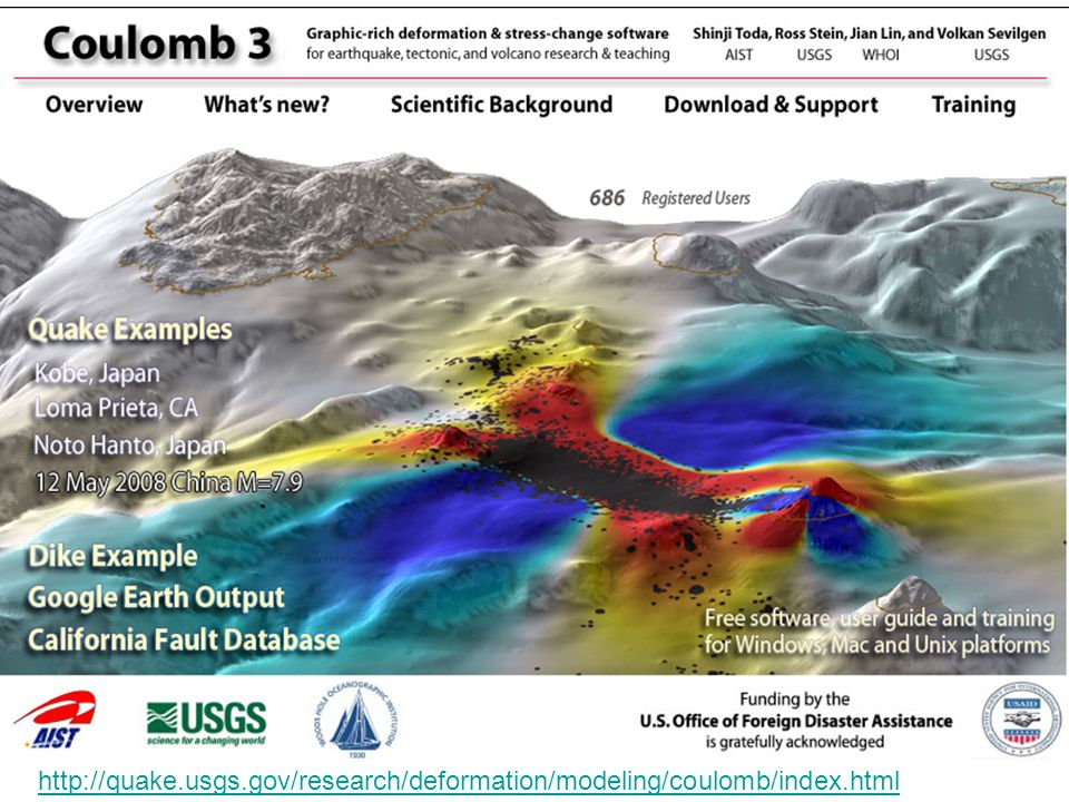 http://quake.usgs.gov/research/deformation/modeling/coulomb/index.html