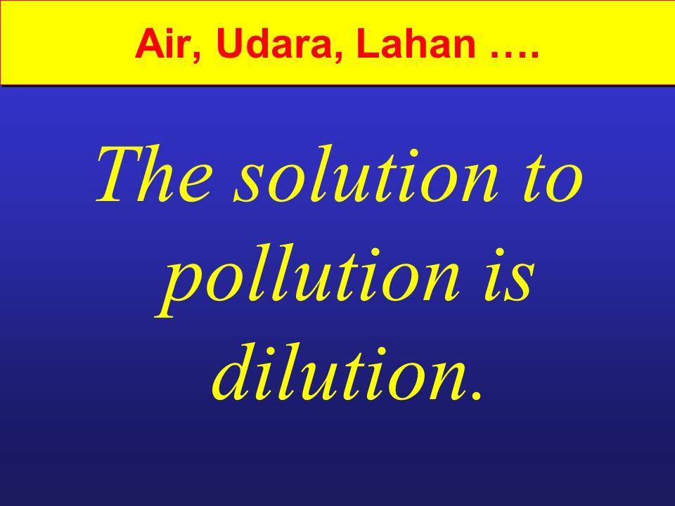 Apa pencemaran air.