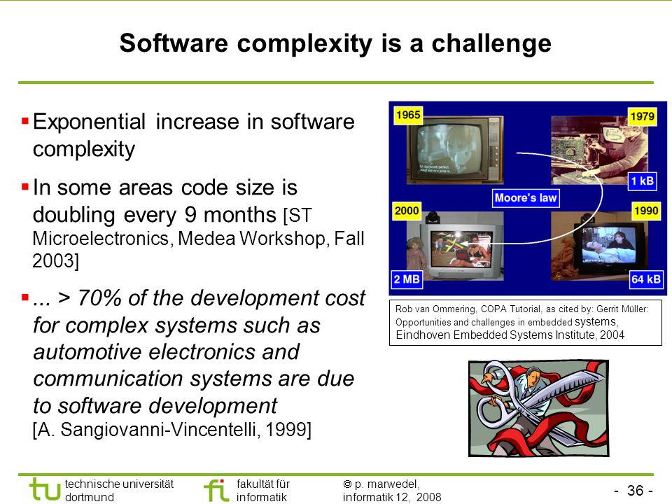 - 36 - technische universität dortmund fakultät für informatik  p.
