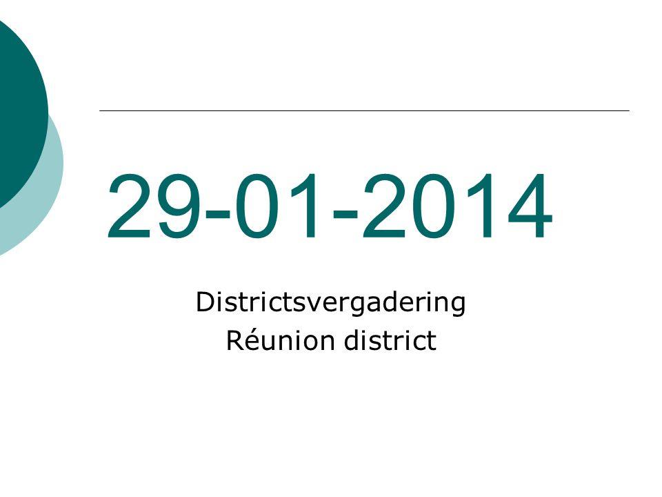 29-01-2014 Districtsvergadering Réunion district