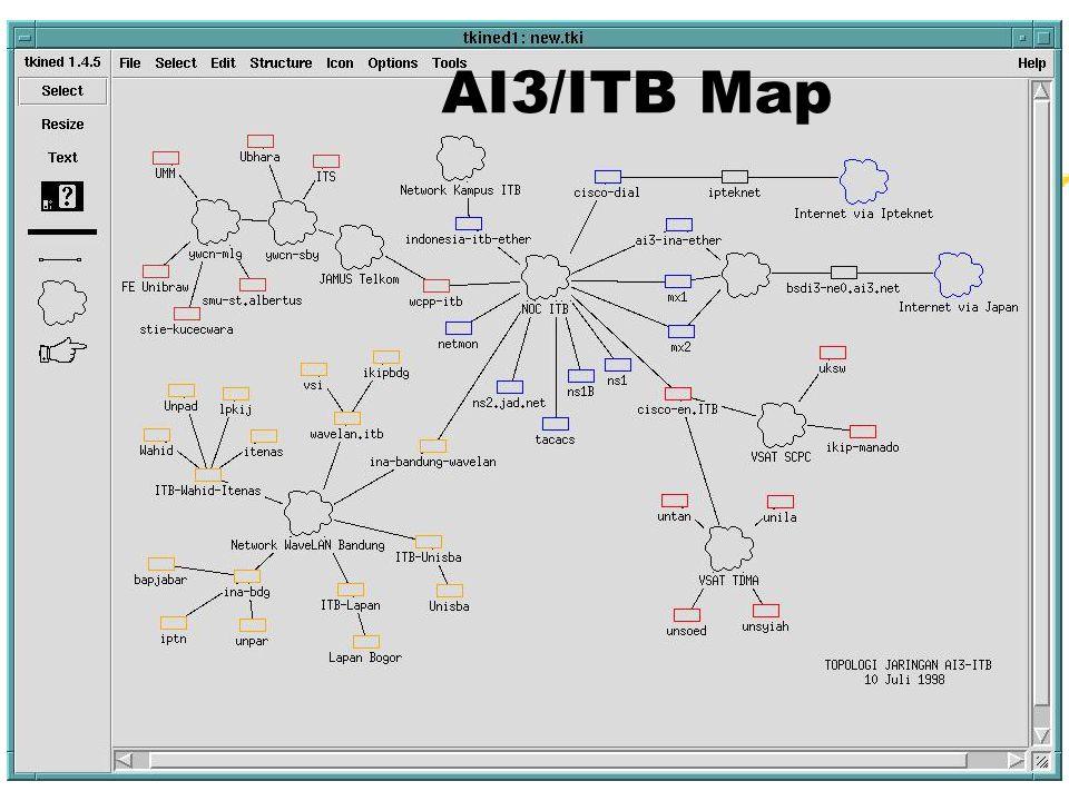 (c) CNRG-ITB 19989 AI3/ITB Map
