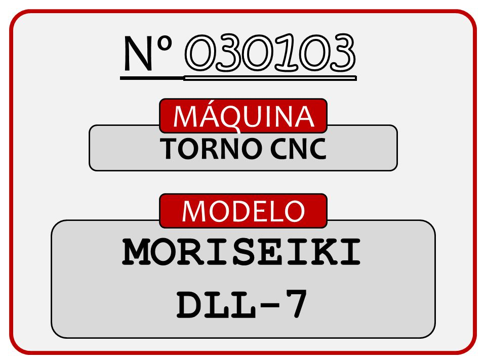 TALADRO MÁQUINA FORADIA MT60/2000 MODELO