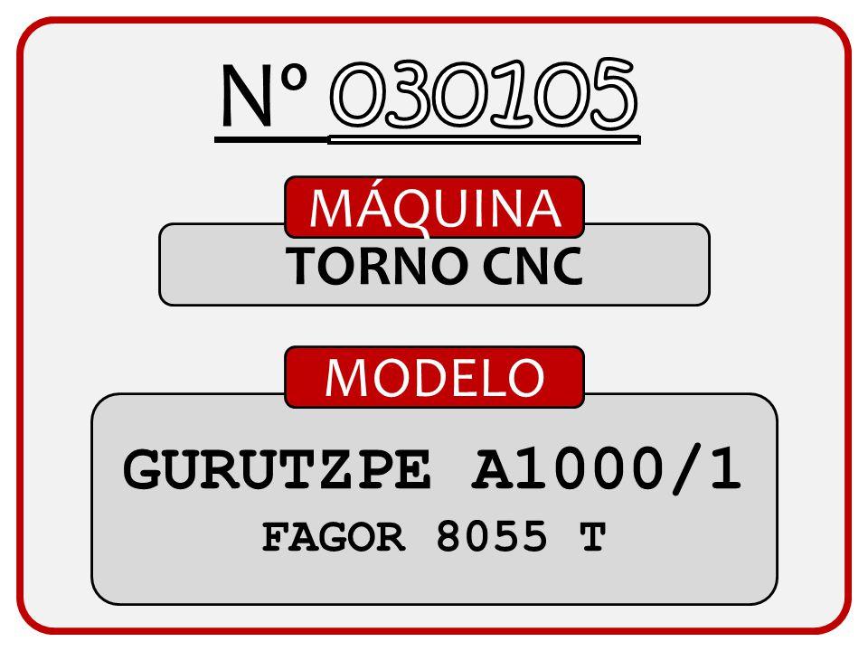 TORNO CNC MÁQUINA TORNO GÉMINIS FAGOR 8055 T MODELO
