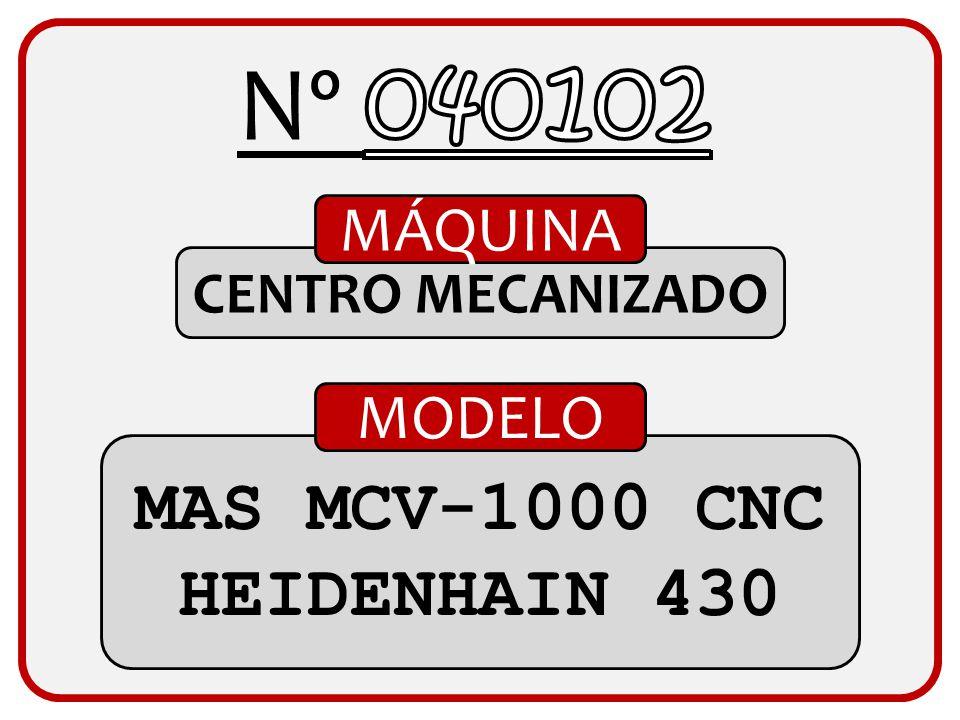 TALLADORA MÁQUINA GLEASON CON. RECTOS 0.500 MODELO