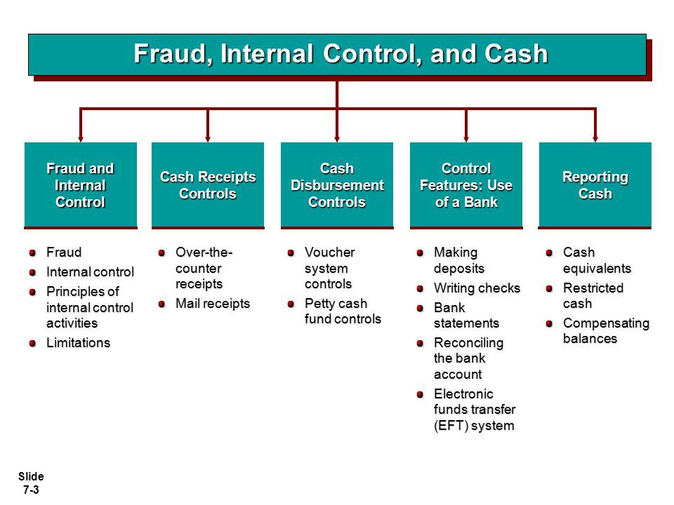 Slide 7-34 Illustration: Illustration: a) Prepare a bank reconciliation at April 30.