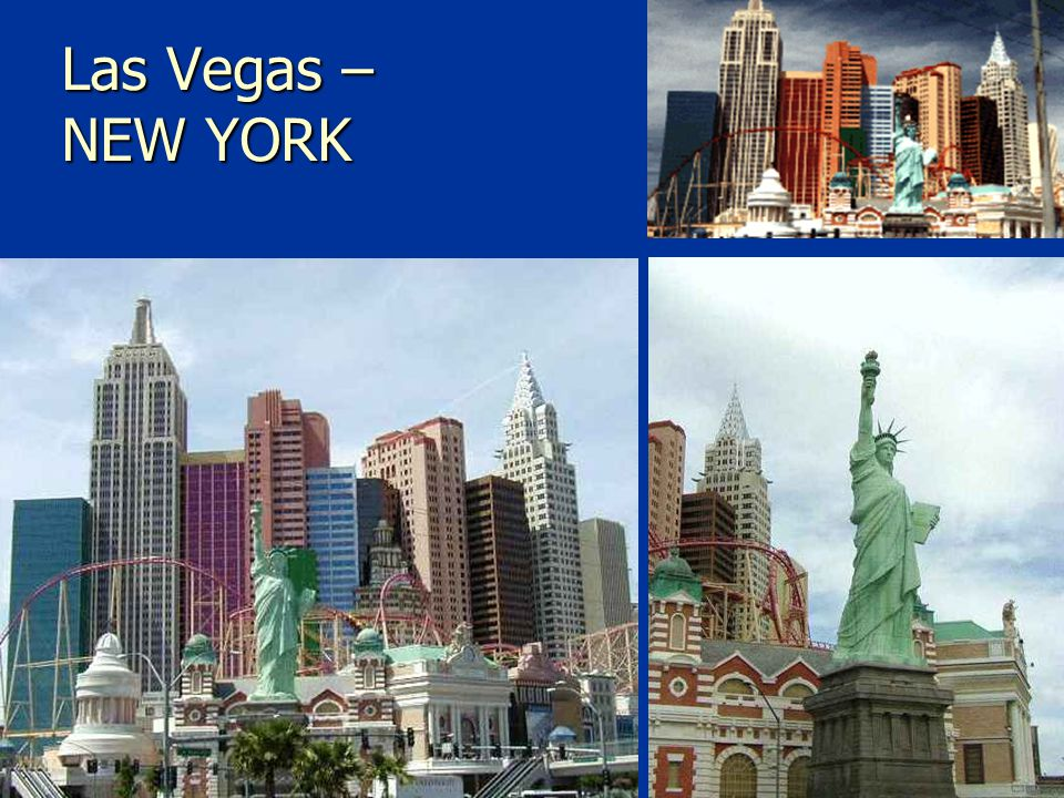 Las Vegas – NEW YORK