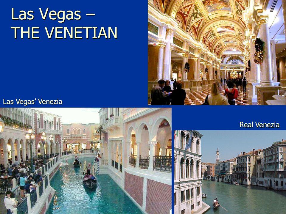 Las Vegas – THE VENETIAN Real Venezia Las Vegas' Venezia