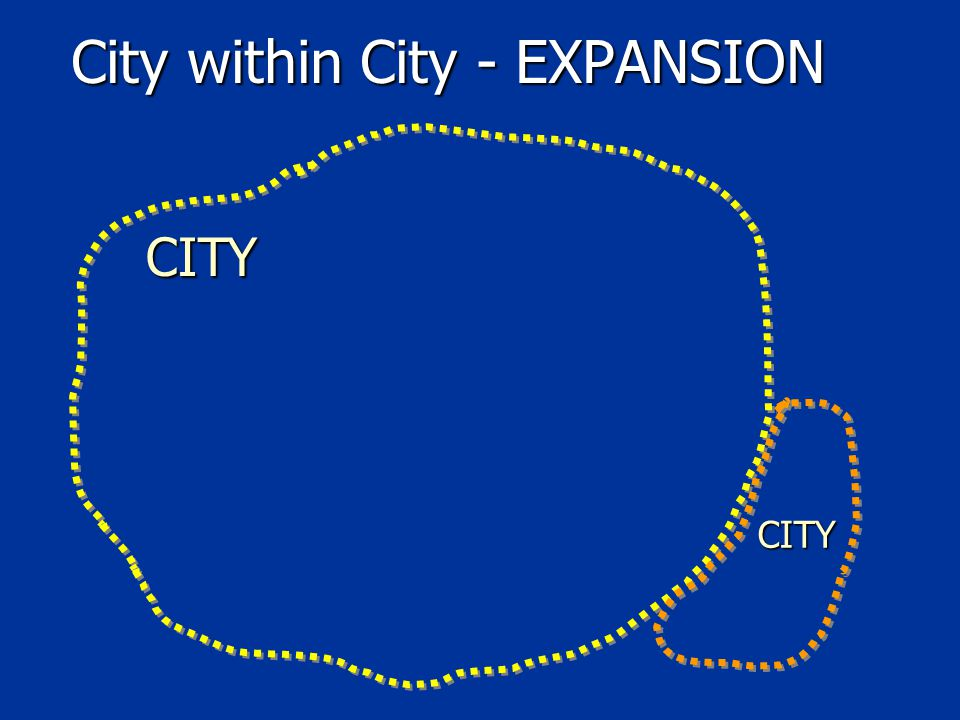 OTHER TYPES OF City within City ?