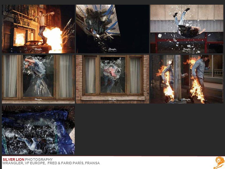 SILVER LION PHOTOGRAPHY WRANGLER, VF EUROPE, FRED & FARID PARİS, FRANSA