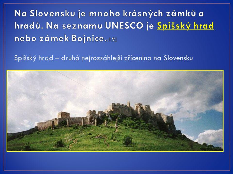 Spišský hrad – druhá nejrozsáhlejší zřícenina na Slovensku
