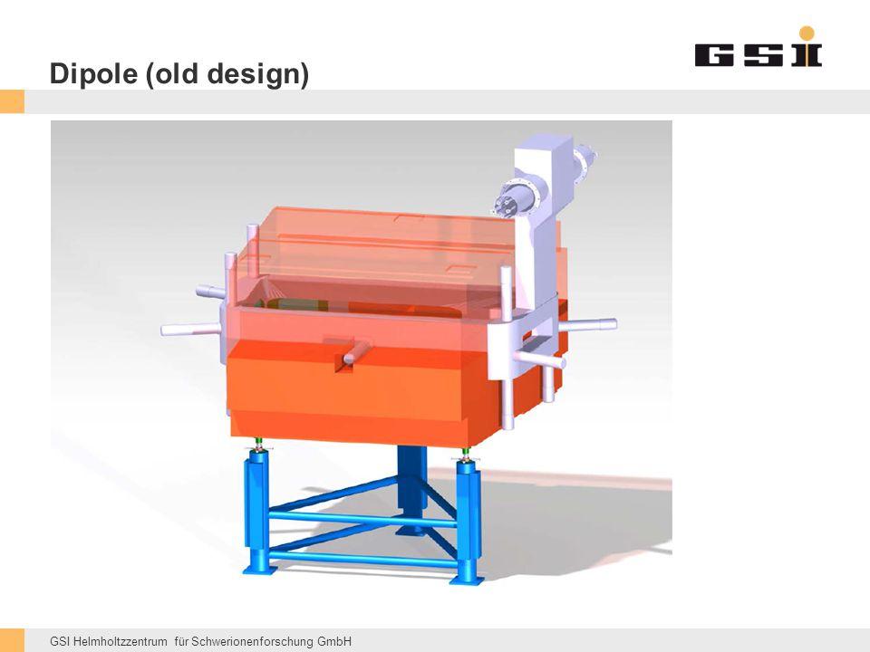 GSI Helmholtzzentrum für Schwerionenforschung GmbH Dipole (old design)