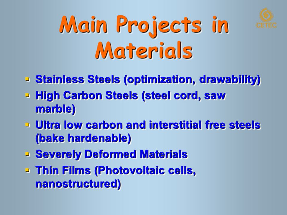 Materials Science and Technology  development of special alloys  microstructure characterization (nano)  materials testing (nano)  hot forming (rolling) process simulation  surface coating and modification  surface characterization  development of special alloys  microstructure characterization (nano)  materials testing (nano)  hot forming (rolling) process simulation  surface coating and modification  surface characterization