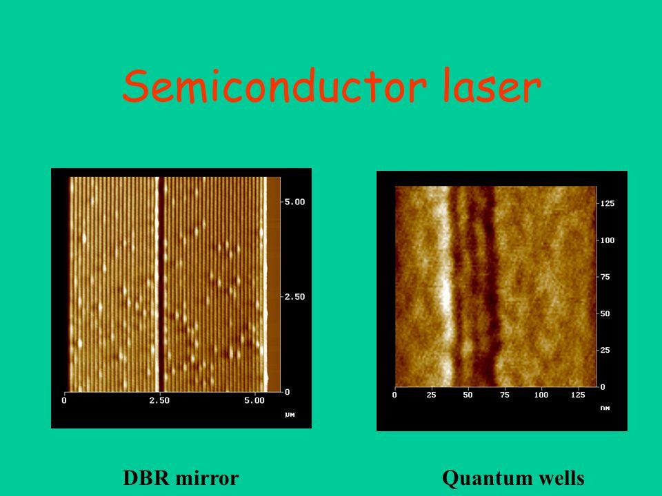 InAs quantum dots on AsGa