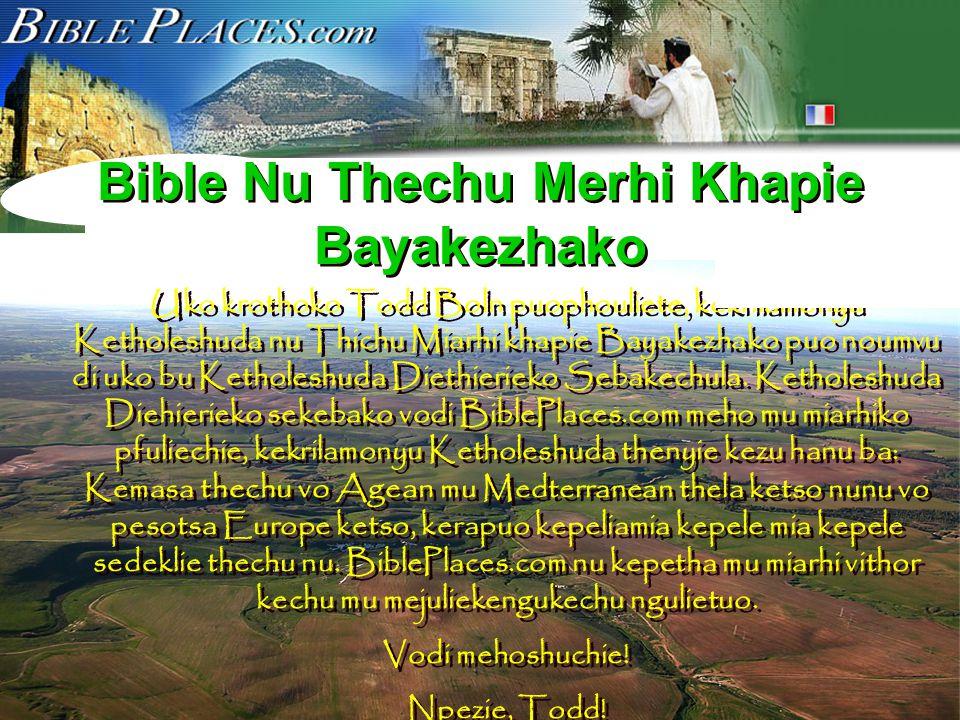Ketholeshuda…Diethirieko Mhatho sedelie, chukelie, mu pesiekelie hau Eno John E.