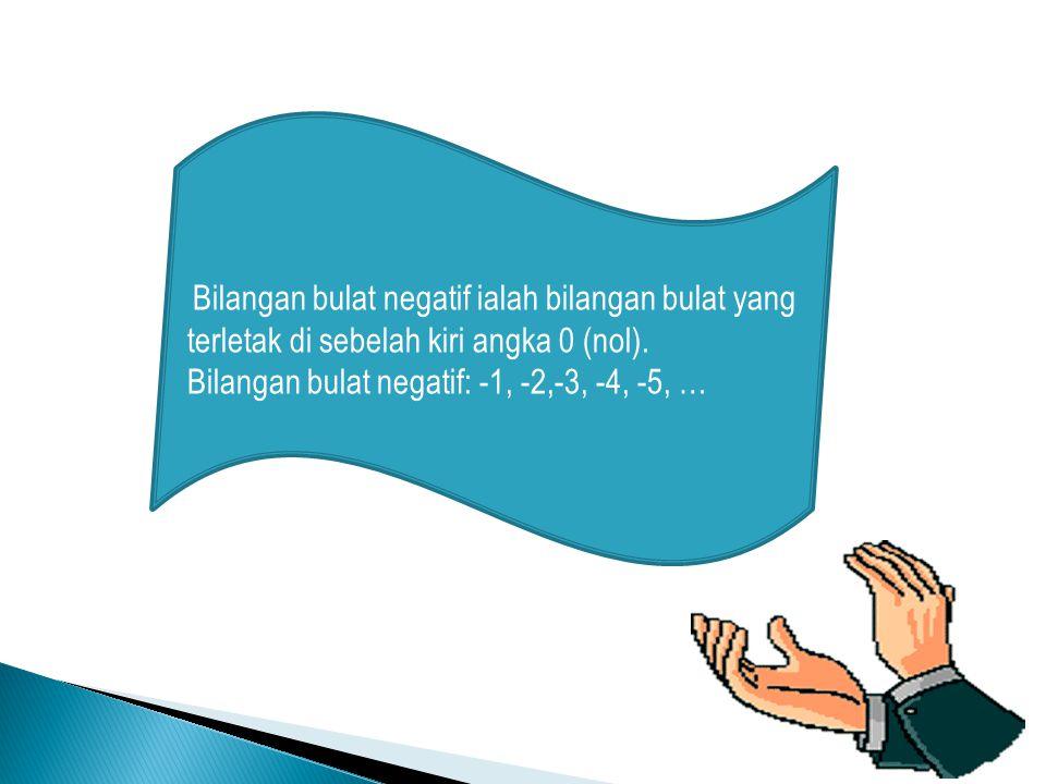 Bilangan bulat positif ialah bilangan bulat yang terletak di sebelah kanan angka 0 (nol).