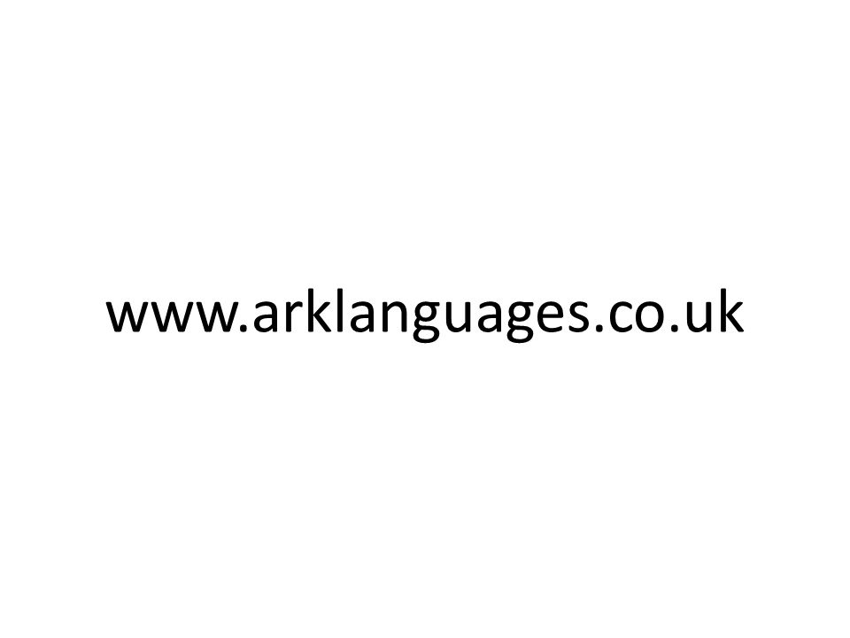 www.arklanguages.co.uk
