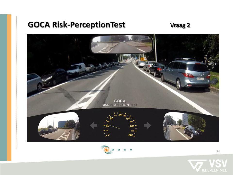 34 GOCA Risk-PerceptionTest Vraag 2