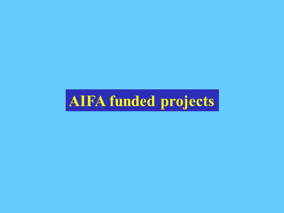 AIFA funded projects