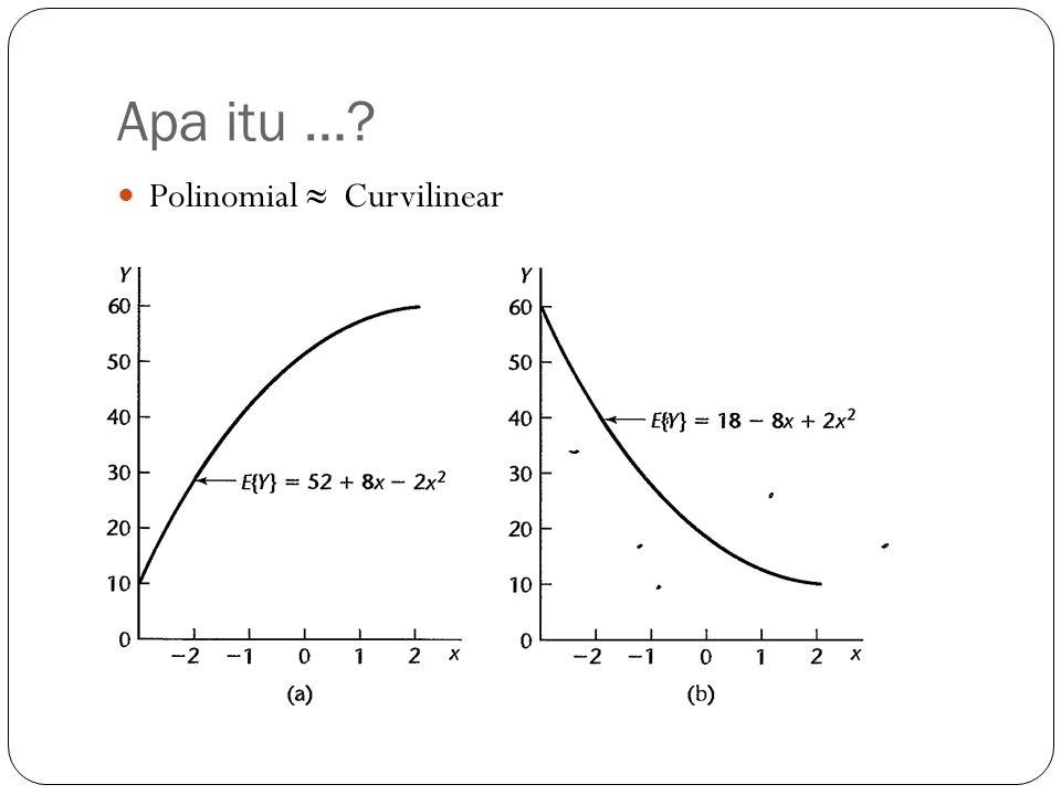 Apa itu … Polinomial ≈ Curvilinear