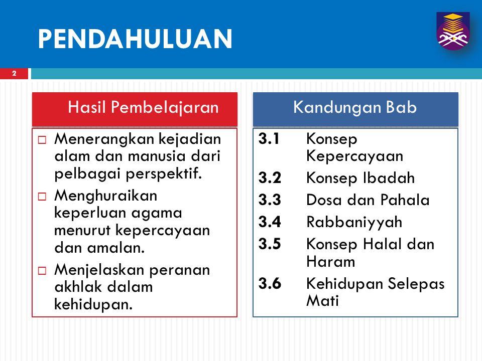 12 HARAM  Haram merupakan sesuatu yang ditegah untuk dilakukan, dipakai, dimakan atau diminum dan sebagainya.