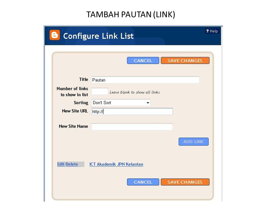 TAMBAH PAUTAN (LINK)