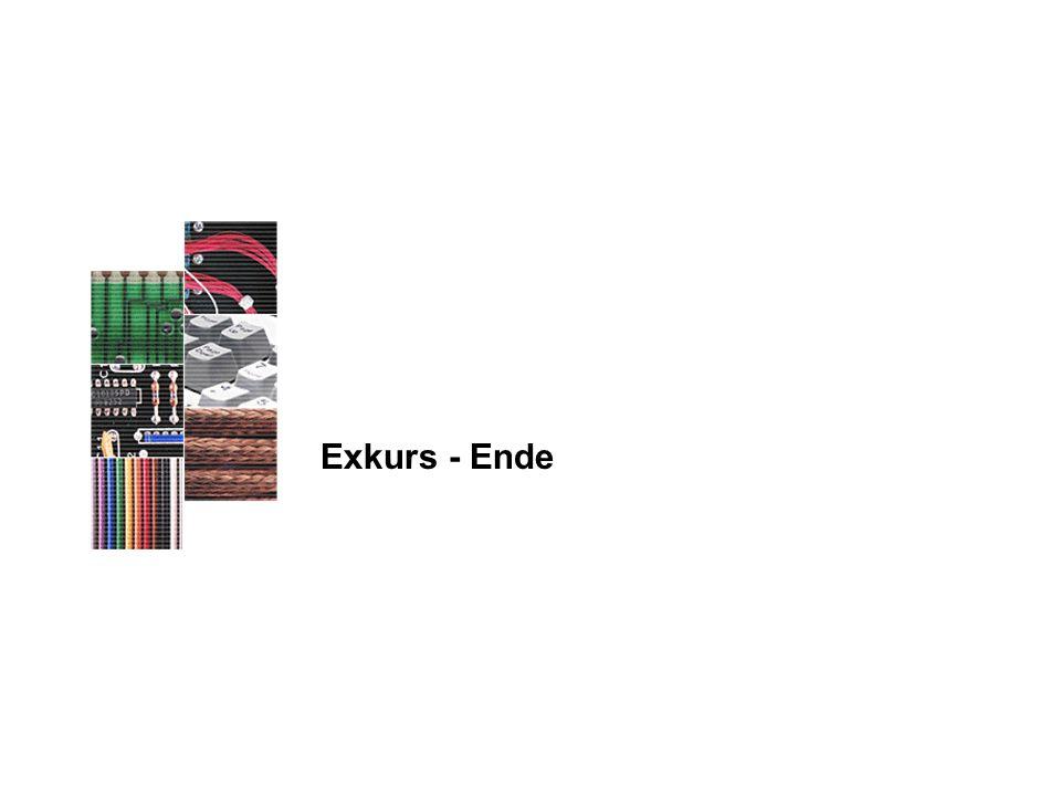 Exkurs - Ende