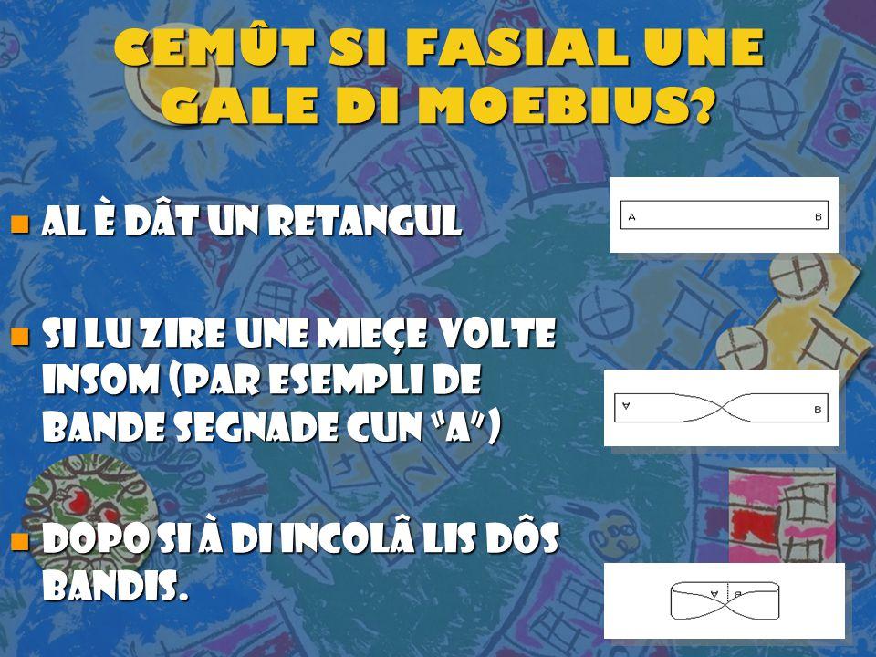 CEMÛT SI FASIAL UNE GALE DI MOEBIUS.